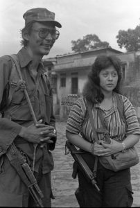 Salvadoran guerrillas (cc photo: Linda Hess Miller/Wikimedia)