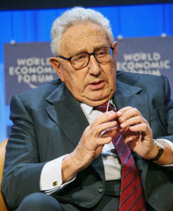 Henry Kissinger (cc photo: Remy Steinegger/WEF)