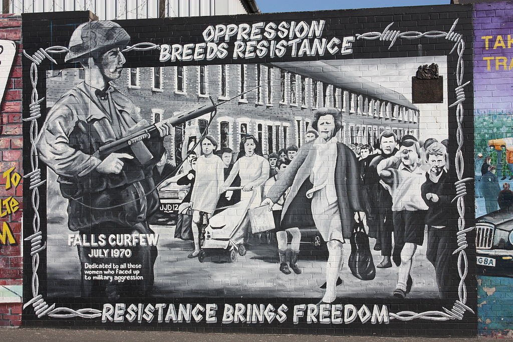 Belfast mural (photo: Ardfern/Wikimedia)