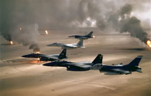 US fighter planes over Iraq (photo: USAF)