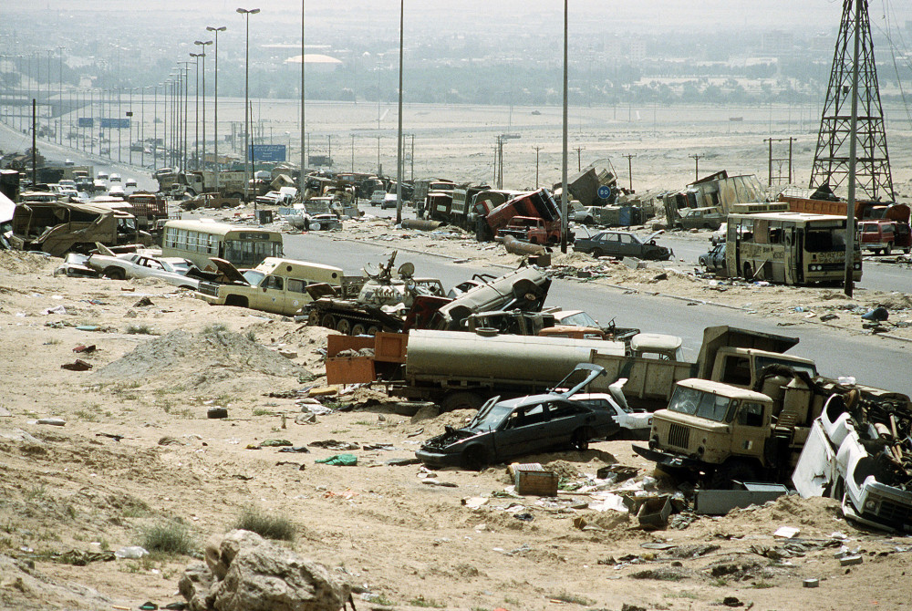 """Highway of Death,"" Kuwait, April 18, 1991"