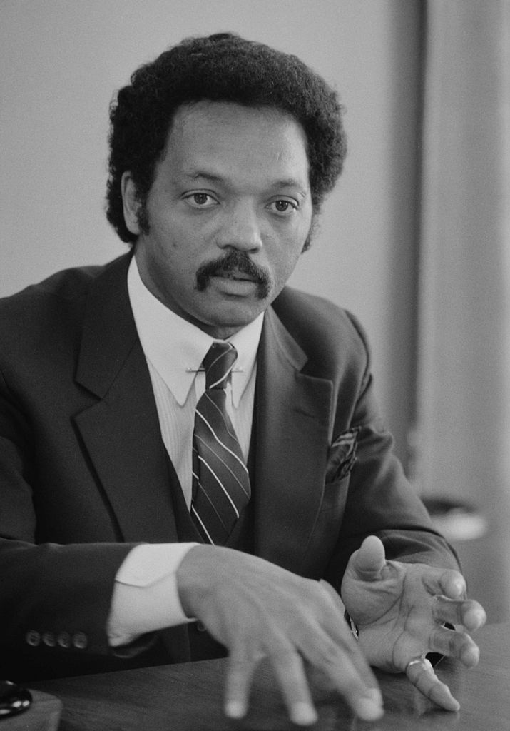 Jesse Jackson in 1983