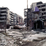 The aftermath of the war in Sarajevo's Grbavica, a Serb-held neighborhood. (photo: Stacey Wyzkowski/DoD)