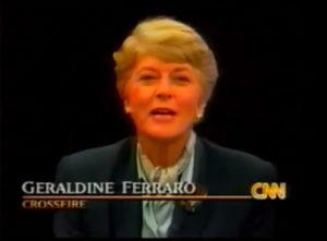 Geraldine Ferraro on Crossfire