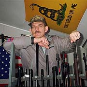 Norman Olsen of the 'Michigan Militia' (AP/John Flesher)