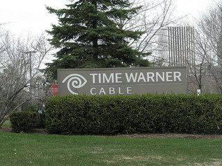 Time Warner offices with Rochester skyline/Photo: Thomas Belknap