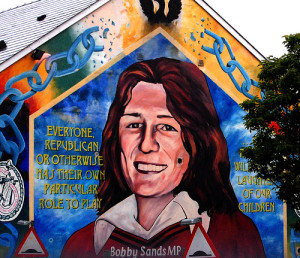 Sinn Fein prisoner Bobby Sands (Photo: Elise Montgomery)