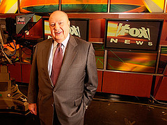 Roger Ailes at Fox Anniversary Event/Photo: AP/Jim Cooper