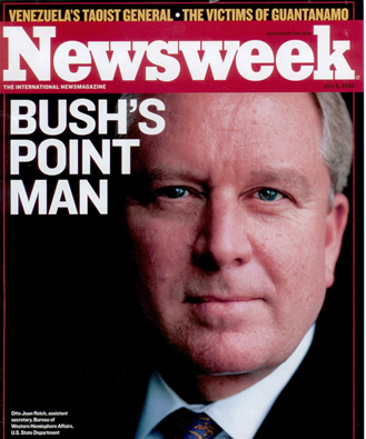 Otto Reich: Bush's Point Man (Newsweek)