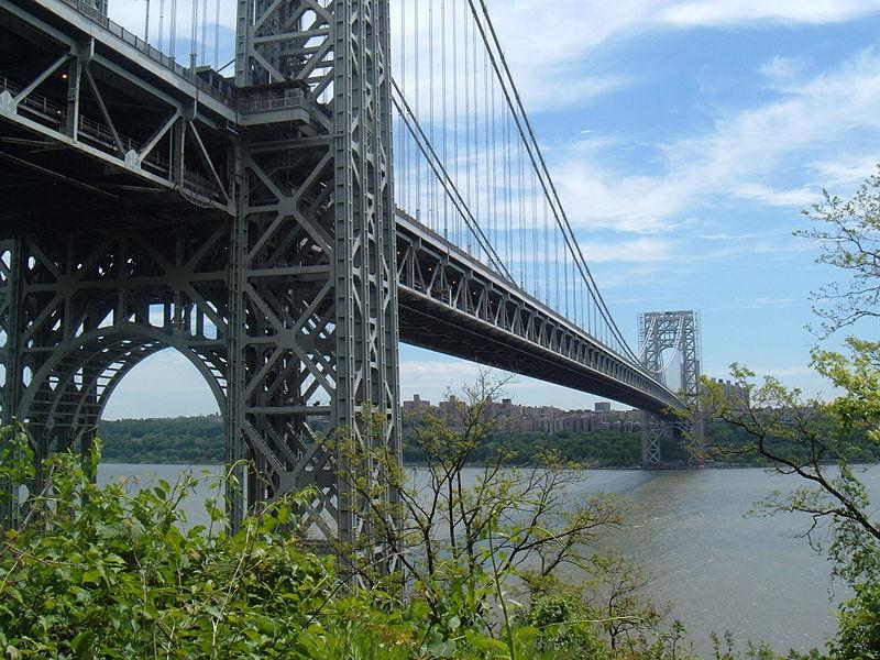 George Washington Bridge (cc photo: Classic2eb/Wikimedia)