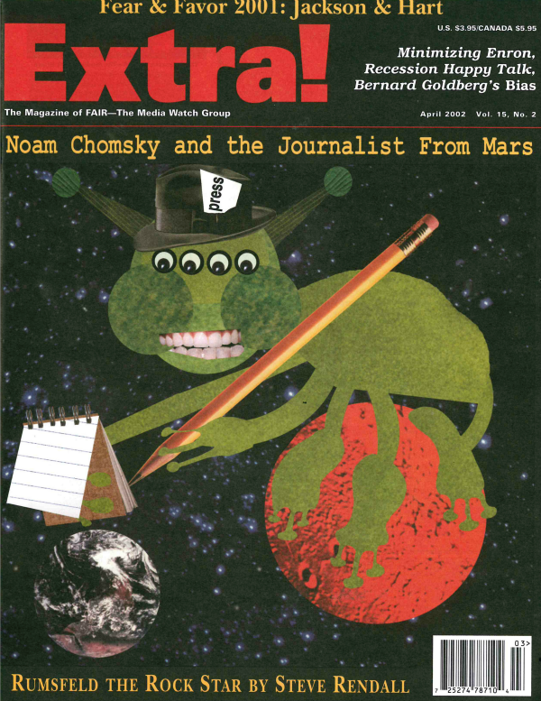 Extra!: Noam Chomsky and the Journalist From Mars