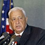 Ariel Sharon (cc photo: Jim Wallace/Smithsonian Institution)