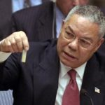 Colin Powell at the UN.