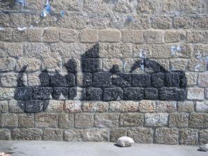 Hamas graffiti, West Bank (cc photo: Soman/Wikimedia)