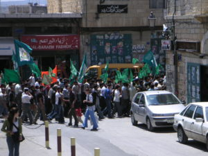 Hamas rally, Bethlehem (cc photo: Soman/Wikimedia)