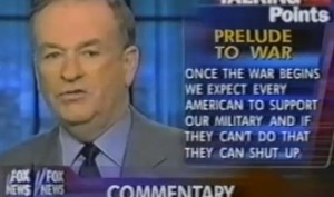Bill O'Reilly--Photo Credit: War Made Easy/Media Education Foundation