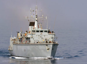 HMS Middleton in the Straight of Hormuz--Photo Credit: Flickr Creative Commons/Defence Images