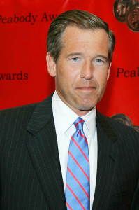 Brian Williams--Photo Credit: Flickr Creative Commons/Peabody Awards