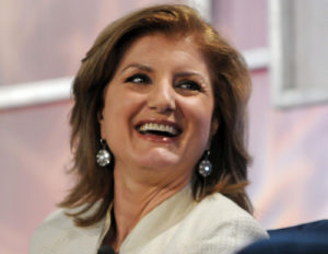 Arianna Huffington--Photo Credit: Flickr Creative Commons/jdlas