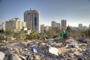 Gaza bombsite, 2009  (cc photo: gloucester2gaza)