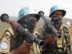 United Nations entering the civil war--Photo Credit: Flickr Creative Commons/United Nations