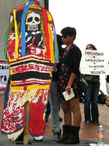Protest against violence caused by the drug war.--Photo Credit: Flickr Creative Commons/Fronteras Desk
