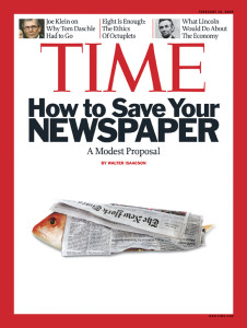 Time: How to Save Your Newspaper