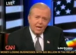 Lou Dobbs--Photo Credit: Flickr Creative Commons/roberthuffstutter