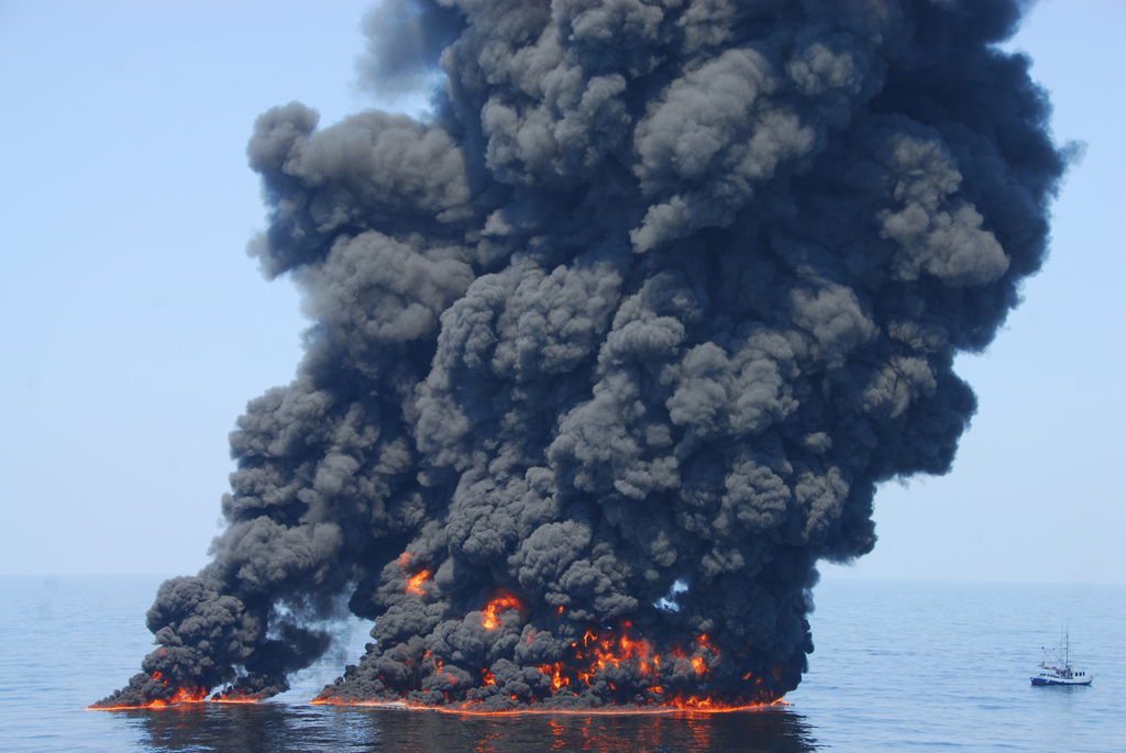Deepwater Horizon disaster (cc photo:  John Masson/Coast Guard)