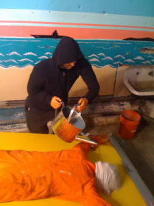 A waterboarding demonstration in Coney Island.--Photo Credit: Flickr Creative Commons/Salim Virji