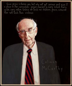 Colman McCarthy--Photo Credit: americanswhotellthetruth.org