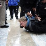 Former FAIR intern John Knefel arrested for being a journalist at OWS--Photo Credit: Salon