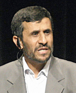 Mahmoud Ahmadinejad--Photo Credit: Wikimedia Commons/Daniella Zalcman