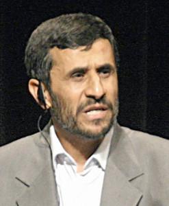 Mahmoud Ahmadinejad--Photo Credit: Wikimedia Commons/Daniella Zalcman