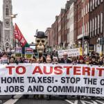Irish anti-austerity protest (StreetsOfDublin.com)