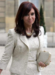 Cristina Fernandez de Kirchner--Photo Credit: Flickr Creative Commons/Expectativa Online