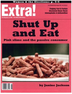 Extra! August 2012: Shut Up and Eat