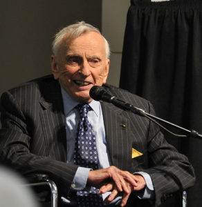 Gore Vidal speaking in 2009--Photo Credit: Flickr Creative Commons/Asterix611
