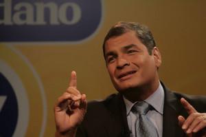 Rafael Correa--Photo Credit: Flickr Creative Commons/Presidencia de la Republica del Ecuador