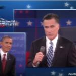 Romney/Obama debate