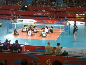 Paralympic Volleyball at London's 2012 games--Photo Credit: Ben Sutherland/Wikimedia Commons