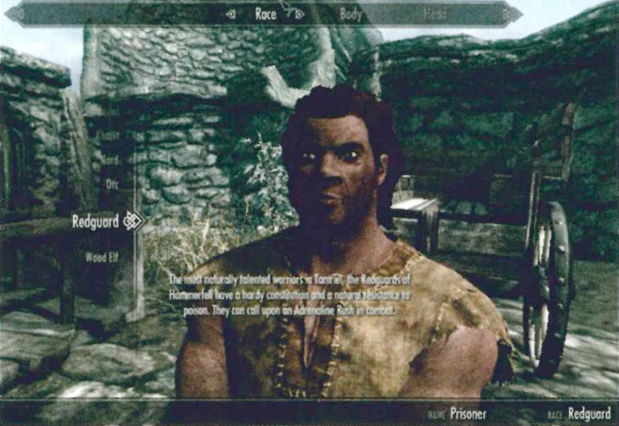 Redguard, Elder Scrolls
