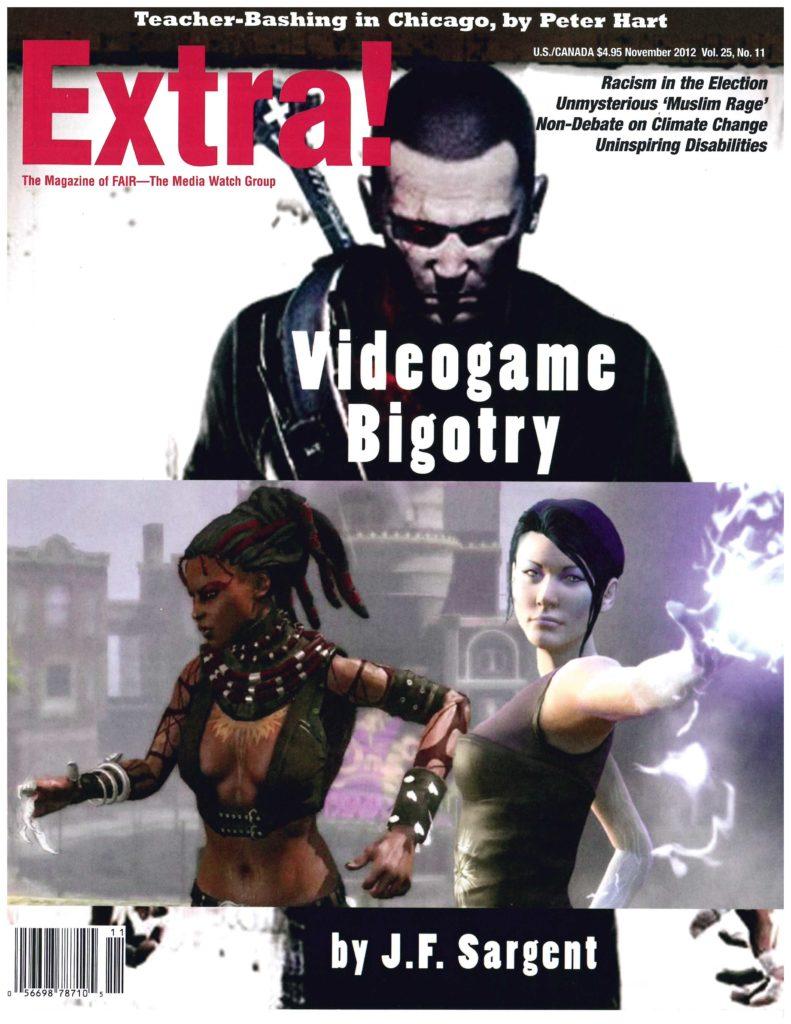 Extra!: Videogame Bigotry