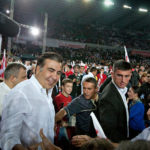 """President Mikheil Saakashvili at a rally on Friday in Tbilisi. Parliamentary elections are Monday"""