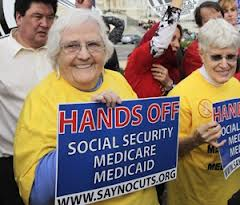 social security-protest
