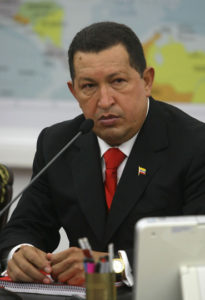 Hugo Chavez--Photo credit: Wikimedia Commons