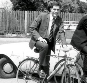 Young Mitt Romney in France--Photo Credit: Telegraph