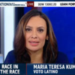 Maria Teresa Kumar, a rare out-of-house Latina appearance on TV. Source: MSNBC's News Nation