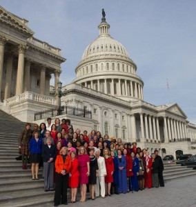 Women of 113th Congress--Photo Credit: Wikimedia Commons