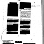 Secrets and censorship, a redacted CIA document--Photo Credit: Wikimedia Commons
